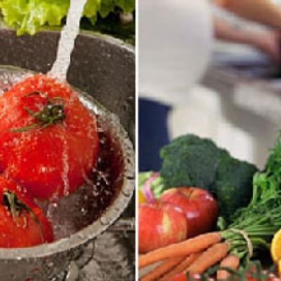 Cách rửa rau củ sạch an toàn